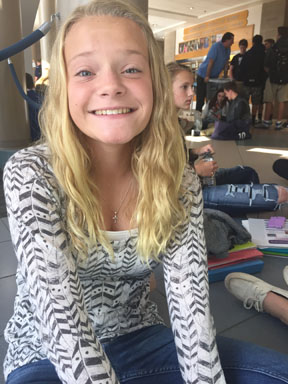 After a year at Arvada West, sophomore Bailey Parker transitioned over to Ralston Valley earlier this year.