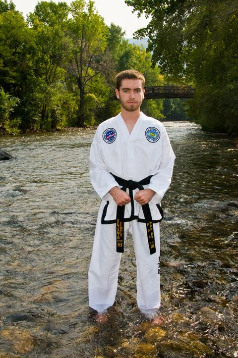RV+senior+Ben+Pemble+is+a+third-degree+black+belt+and+quite+accomplished+in+Taekwando.