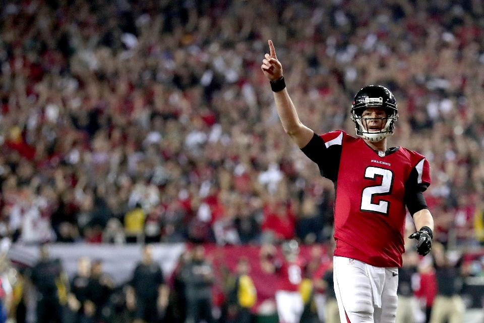 Quarterback Matt Ryan is taking the Atlanta Falcons to their first Super Bowl since 1999, and hopes to lead the NFL's most prolific offense to a Super Bowl LI victory.
