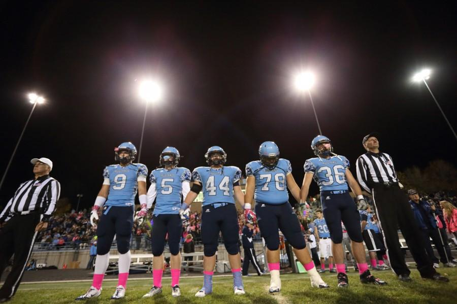 The Mustangs are hoping to reach the Class 5A title game for the first time in school history, and a win over Cherry Creek will do just that.