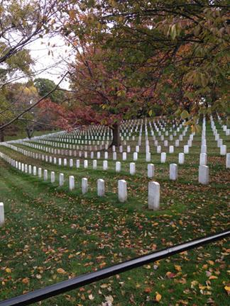 Arlington National Cemetery is home to US soldiers who have given the ultimate sacrifice for our country.