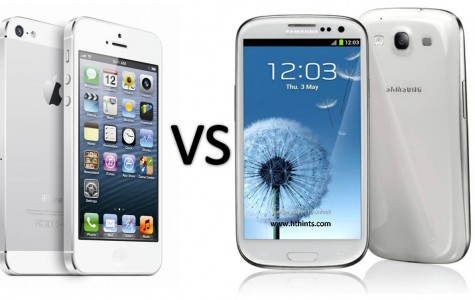 So, what's it going to be? Are you choosing the iPhone or the Samsung Galaxy?