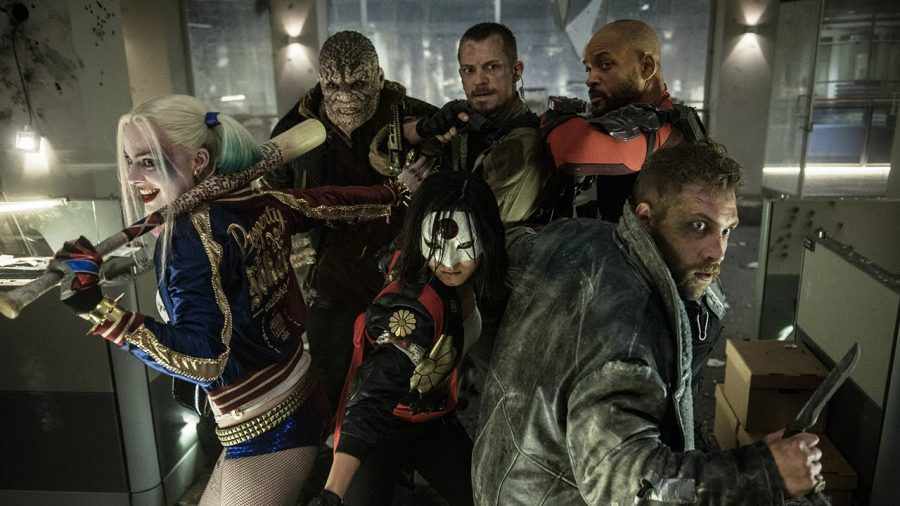 Suicide Squad: The World's Flattest Roller Coaster
