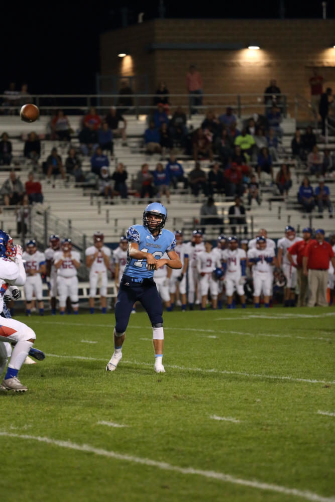 Junior quarterback A.J. Jergensen and the Mustangs are coming off three losses to open up the season, but they will look to pick up a win as the team travels to Bakersfield, California, for a non-league game this weekend.