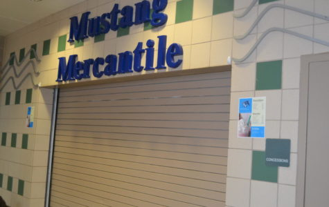 Closed down for a while, the Mustang Mercantile is set to reopen tomorrow.