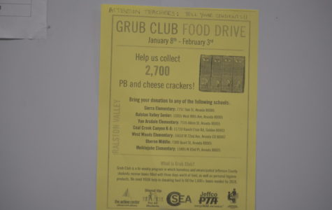 Grub Club Donations
