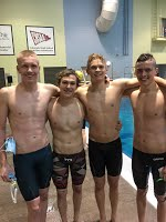 Last season, on May 19, 2017, Nick Fox ('19), Cody Turner ('19), Sam Cowling ('18) and Quinn Sweetman ('18) set the RV school record in the 200 Medley Relay. All four swimmers are back this year as the Mustangs look to jump to the top of the Class 5A Jeffco League standings.